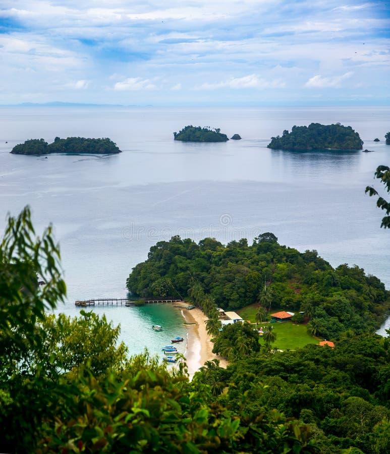 Coiba Insel stockbild