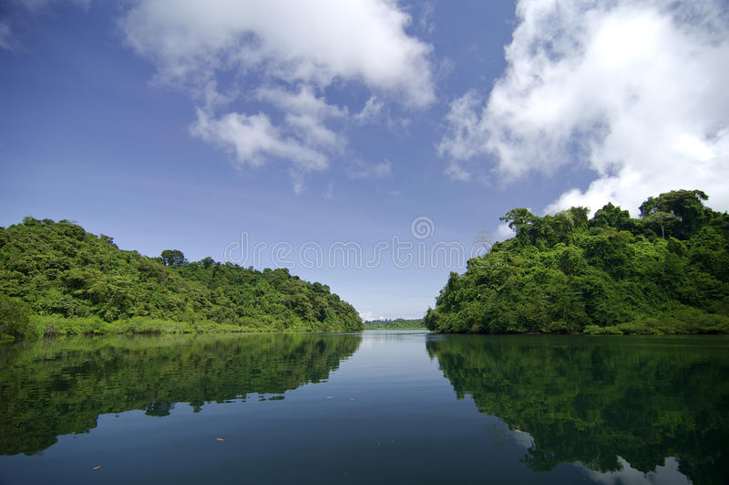 Coiba island royalty free stock images