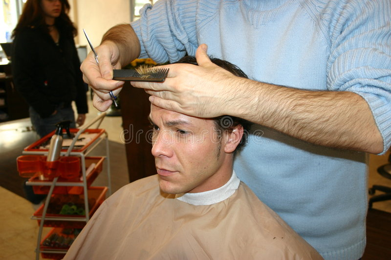 Coiffeur image stock