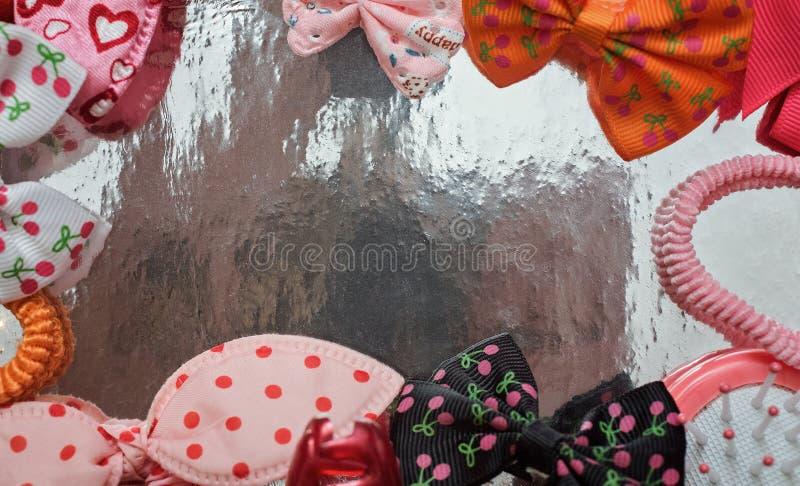 Coiffures pour le bébé photo stock