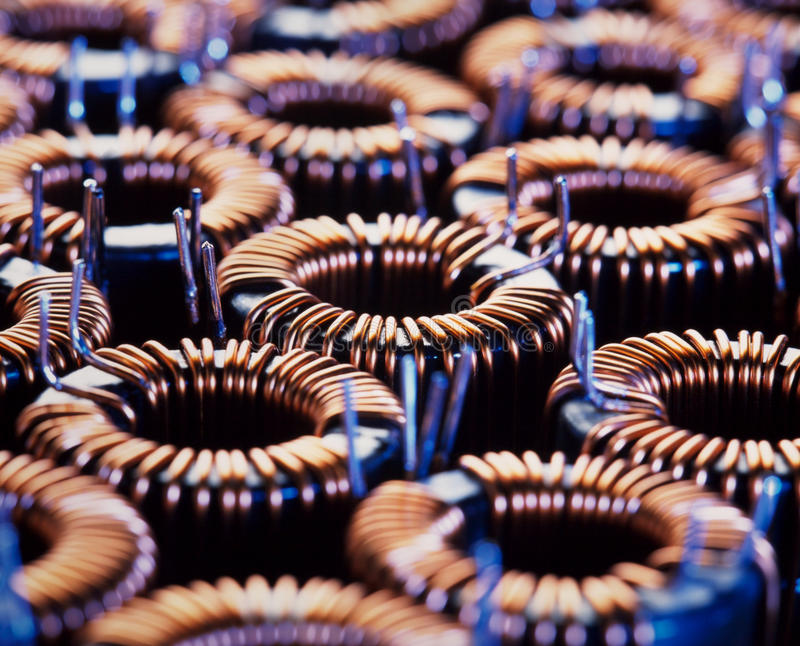 Download Coil stock image. Image of magnetism, metal, electrical - 14841309