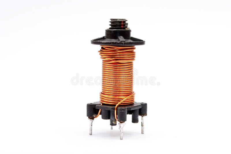 Download Coil stock photo. Image of metal, motor, small, current - 17041322