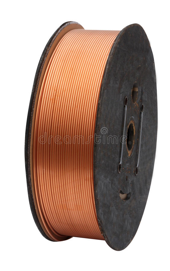 Download Coil Of Copper Tube Royalty Free Stock Photography - Image: 18025837