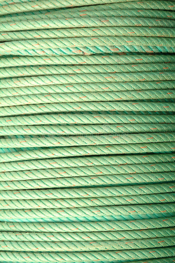 Free Coil Of Green Ropes Royalty Free Stock Image - 2234386