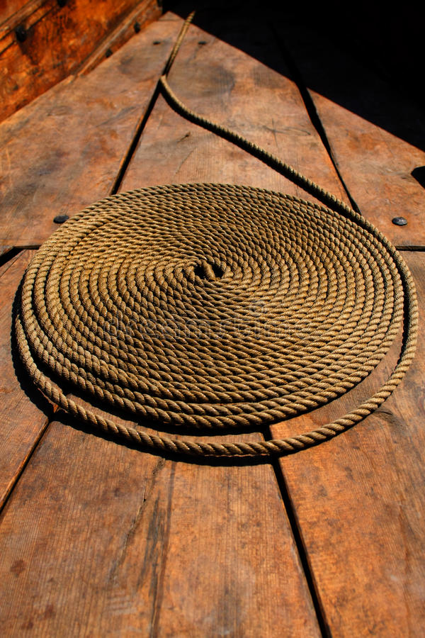 Download Coiled rope stock image. Image of isolated, cleat, cable - 10366057