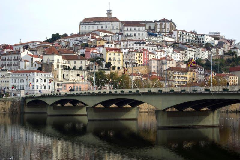 Coimbra, Portugal. The city an important touristic destination stock image