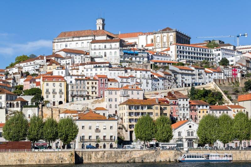 Coimbra in Portugal royalty-vrije stock afbeeldingen