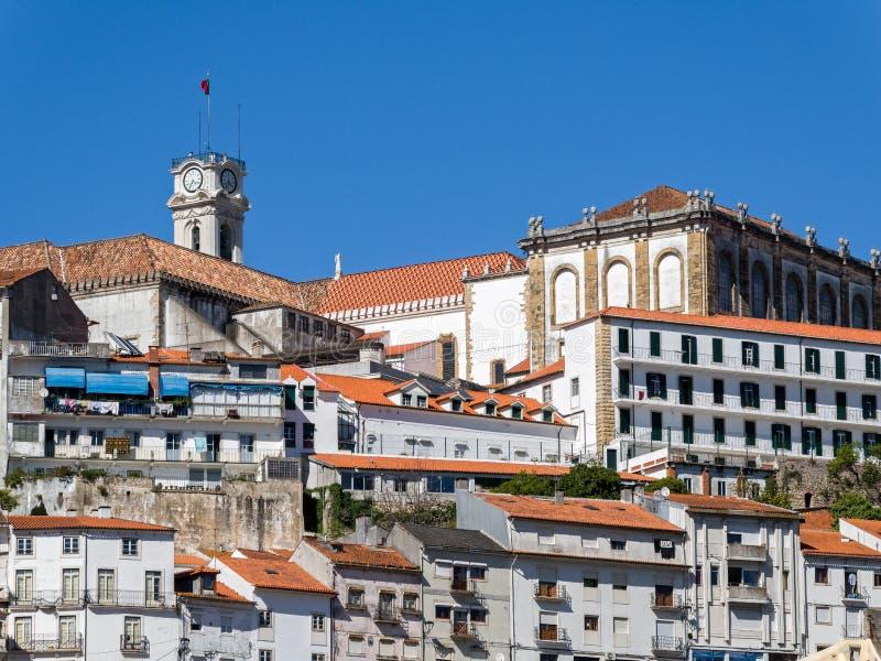 Coimbra in Portugal royalty-vrije stock foto's