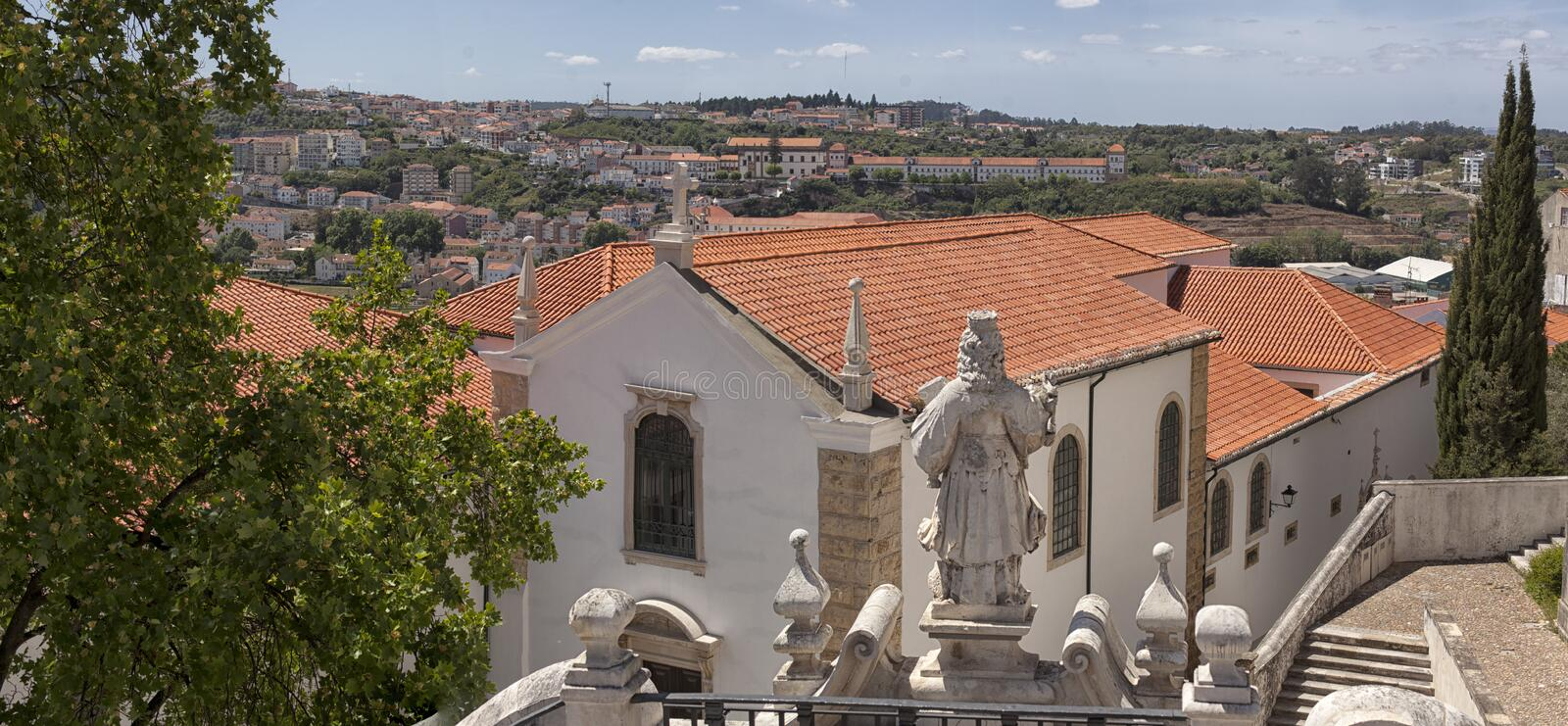 Coimbra portugal stock afbeelding