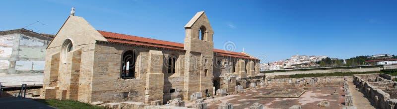 Coimbra, Portugal, Iberian Peninsula, Europe, monastery, church, ruins. Portugal, 28/03/2012: the ruins of the Monastery of Santa Clara a Velha, Old St. Clare, a stock photography