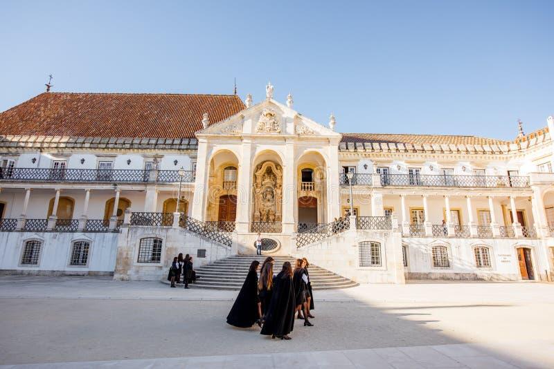 Coimbra stad i Portugal arkivfoton