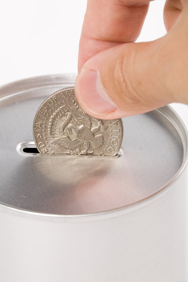 Coin Bank stock image