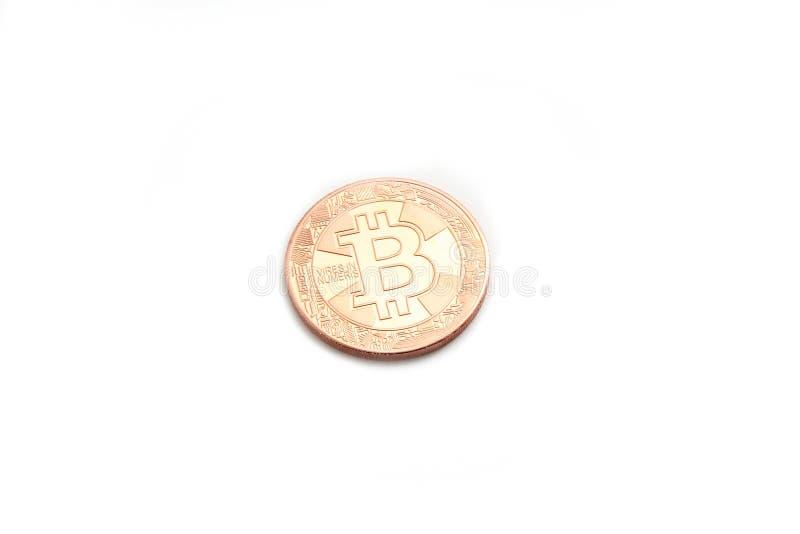 Coin bitcoin stock photos