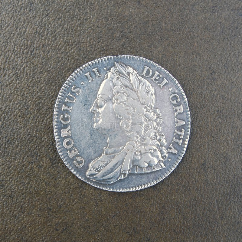 Download Coin - Crown Of King George II Stock Image - Image: 7590205