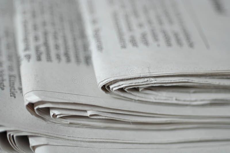 Coin Des Journaux Photographie stock libre de droits