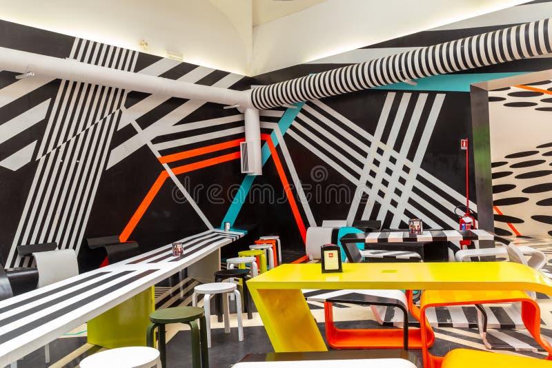 Coin 2019 futuriste de café de Biennale Arte Venise photos libres de droits