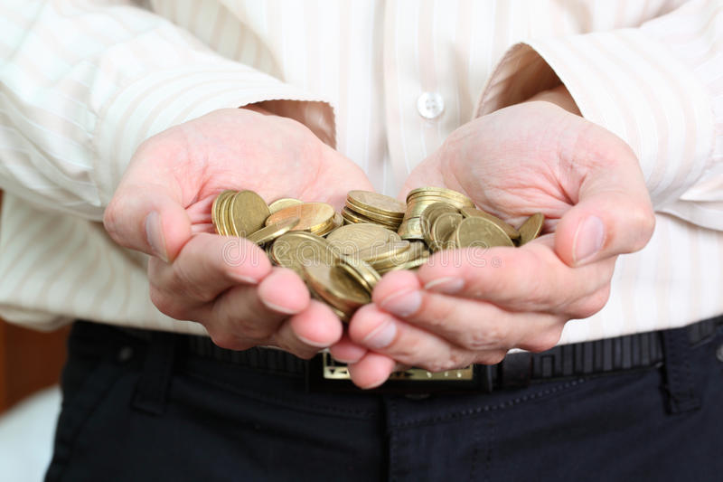 Coin royalty free stock photo