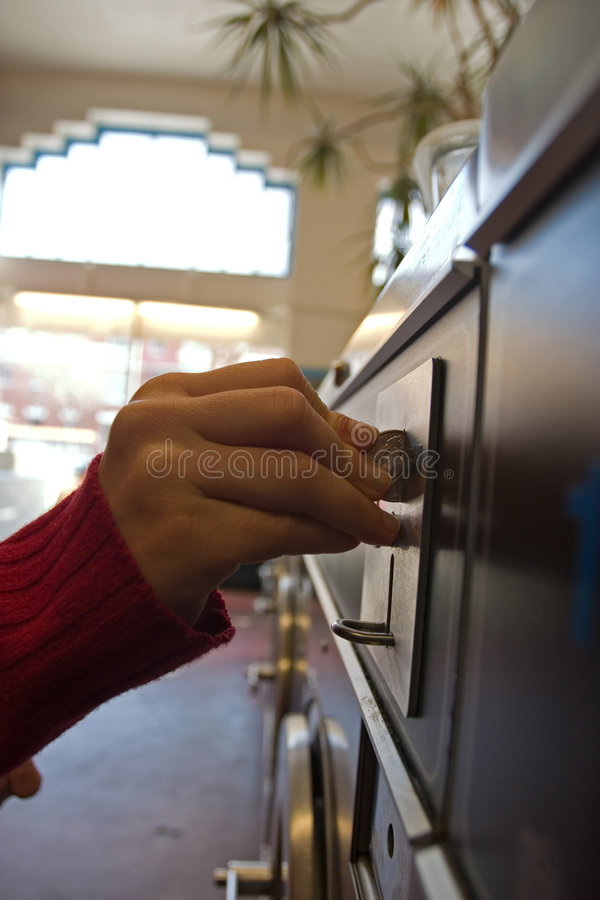 Coin Machines stock photography