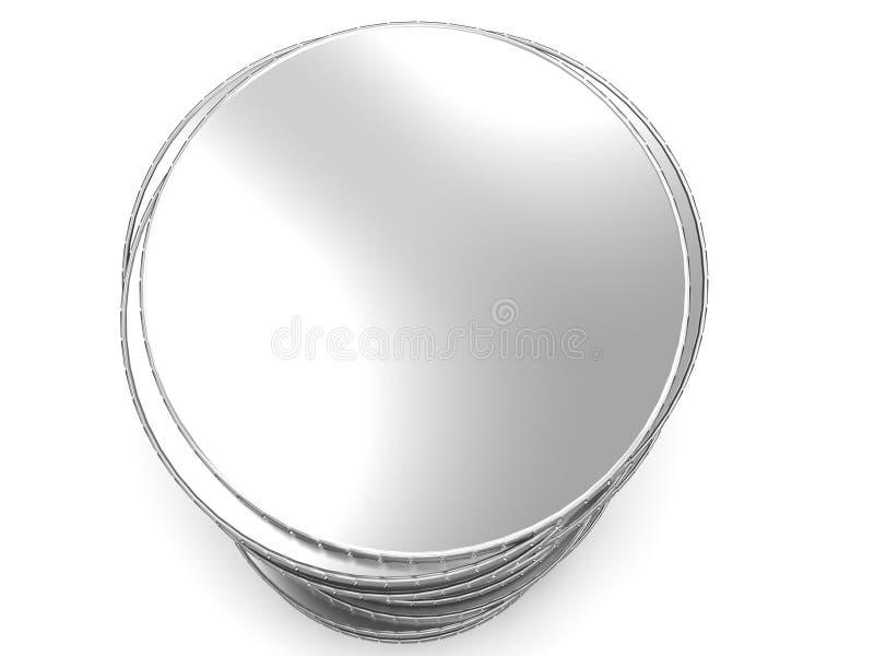 Coin money savings stack vector illustration
