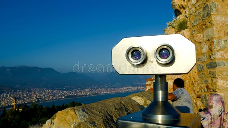 Coin operated viewer editorial stock image. Image of ...