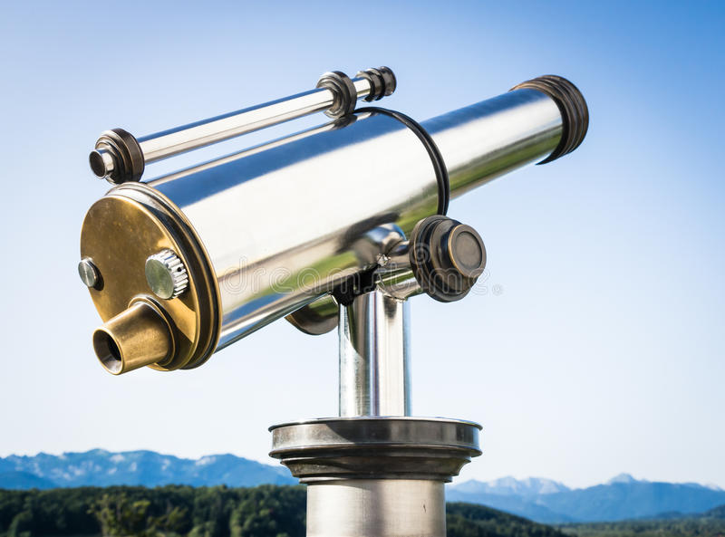 Download Coin operated binoculars stock photo. Image of coin, fashioned - 28376150