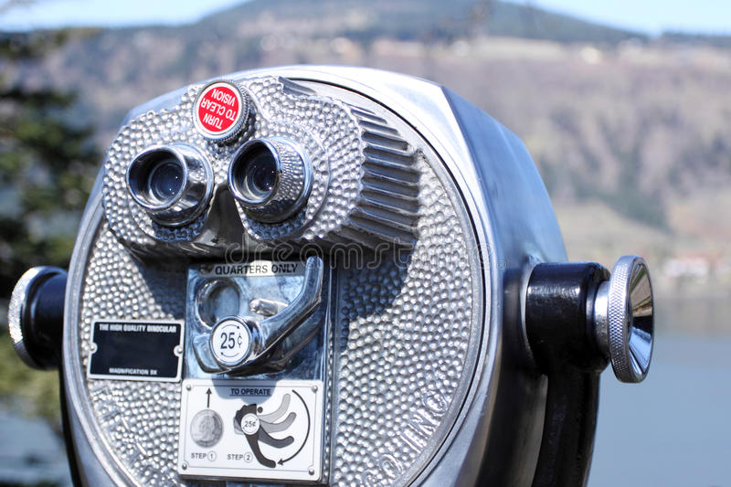 Download Coin-operated binoculars stock image. Image of tourism - 30167051