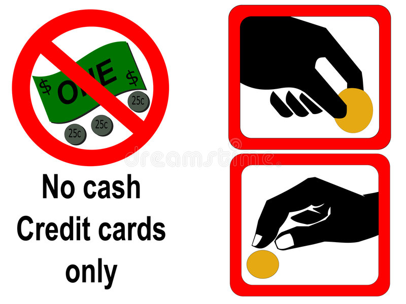 Download Coin operated signs stock illustration. Image of sign - 1713260