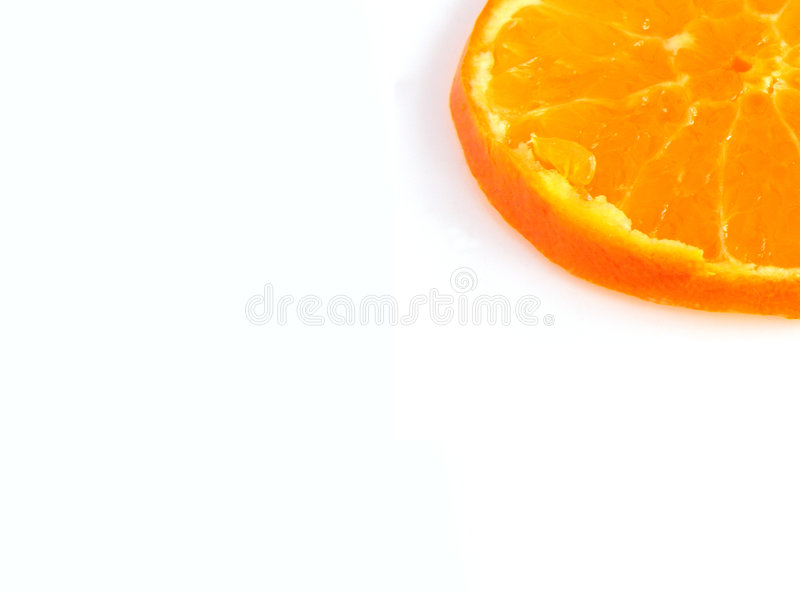 Coin Orange Photographie stock
