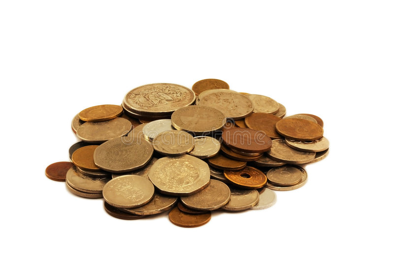 Download Coin pile stock image. Image of cash, income, coinage - 9038027