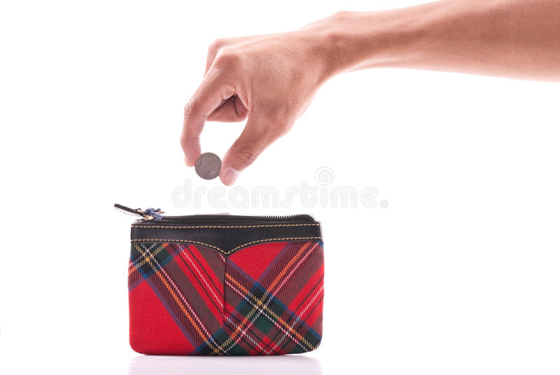Coin Purse royalty free stock photography