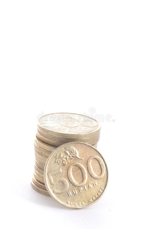 Coin Rupiah - Indonesian Money royalty free stock images