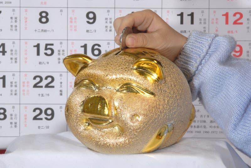 Download Coin saving stock image. Image of bank, education, hand - 4076975