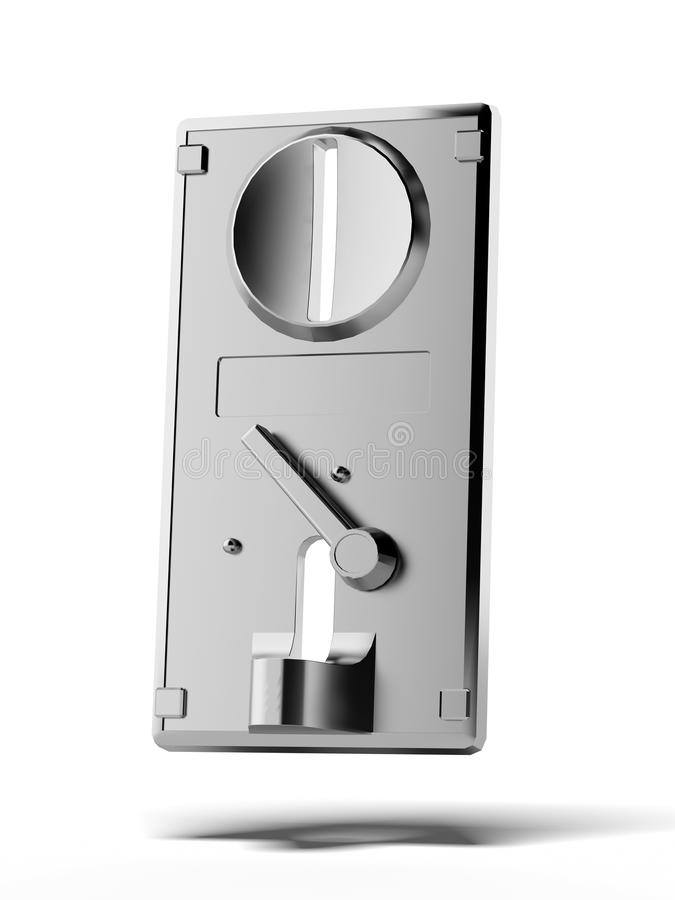 Download Coin Slot Panel Stock Image - Image: 33753541