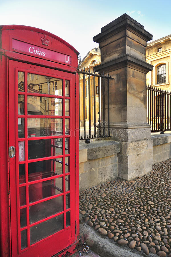 Download Coin telephone box, Oxford stock image. Image of historic - 26704577