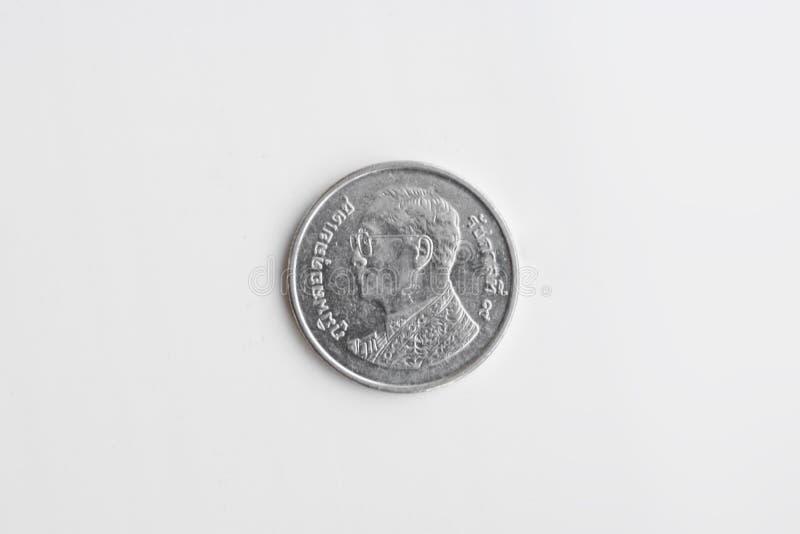 Coin - 1 Thai Baht. Thai currency stock photography