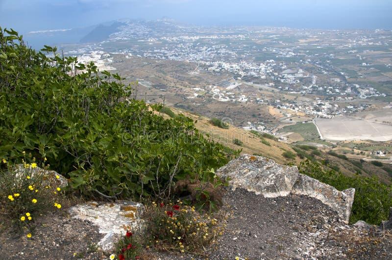 Coin tranquille dans Mykonos image libre de droits