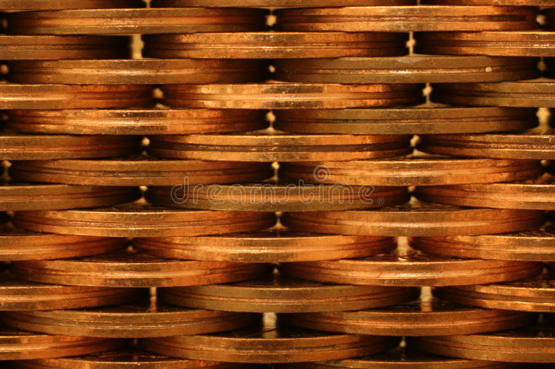 Coin Wall royalty free stock photo