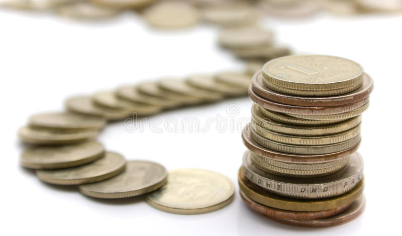 Download Coins stock image. Image of color, finances, coins, gold - 10161233