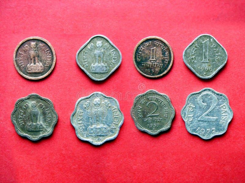 Coins_17 Indiano Fotografia de Stock
