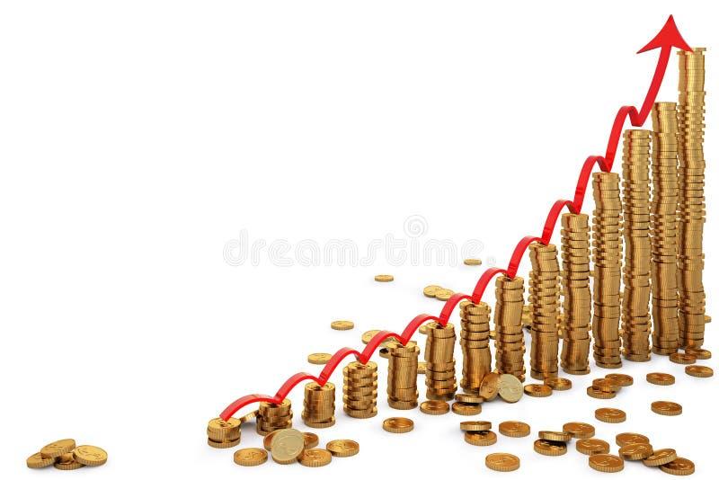 Coins stock illustration