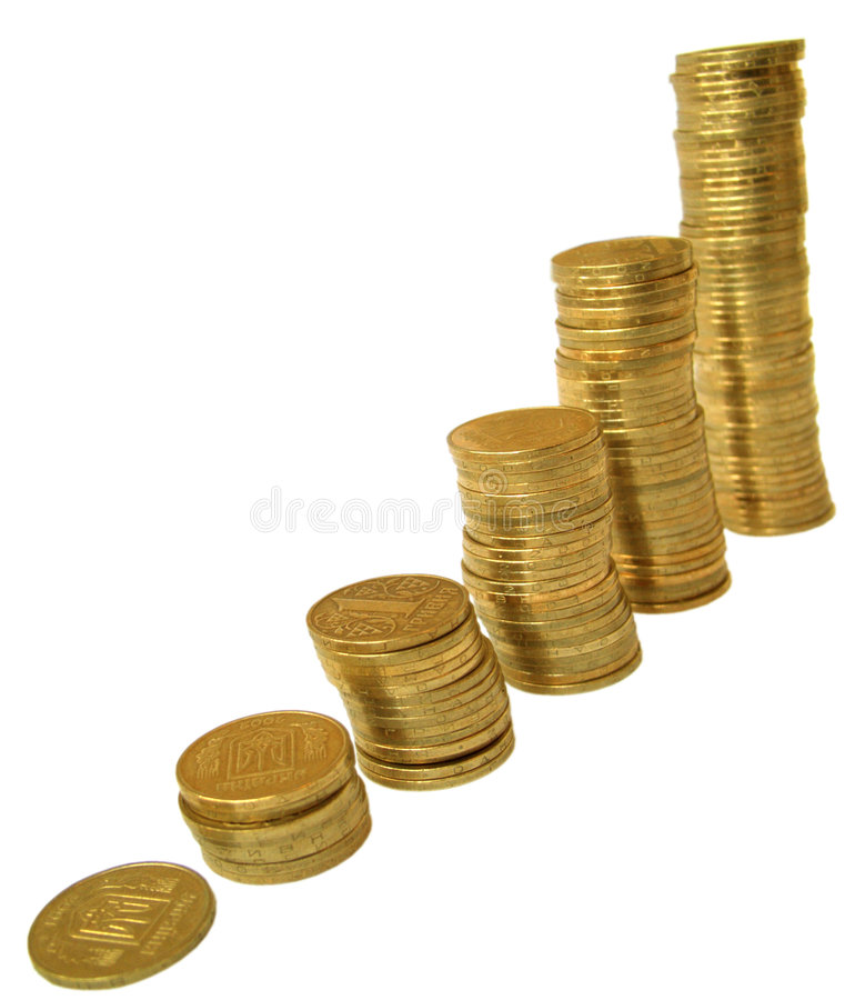 Free Coins 2 Royalty Free Stock Photo - 194115