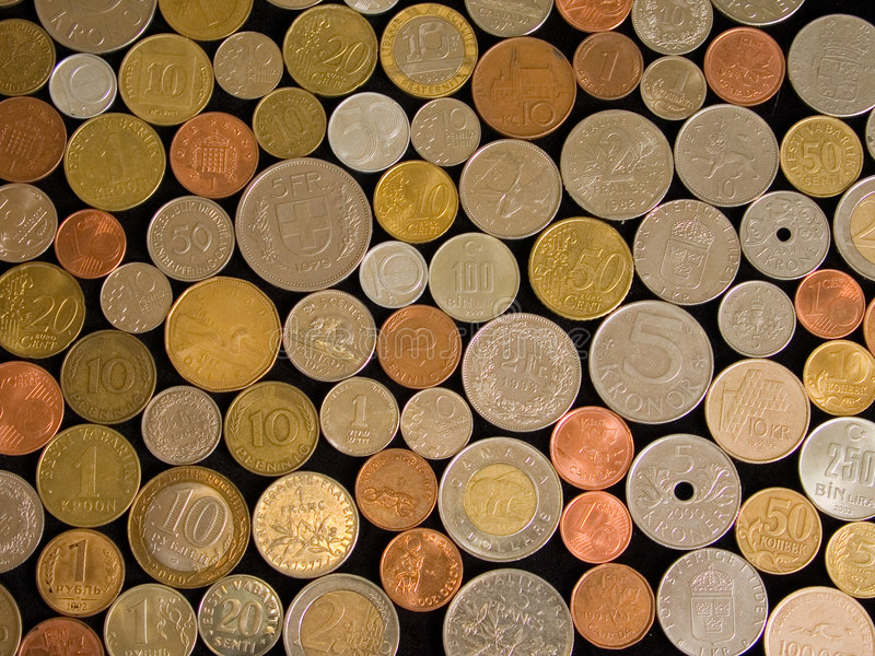 Download Coins stock photo. Image of financial, dollars, kroner - 308618