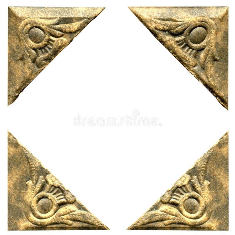 Coins antiques de photo photo libre de droits
