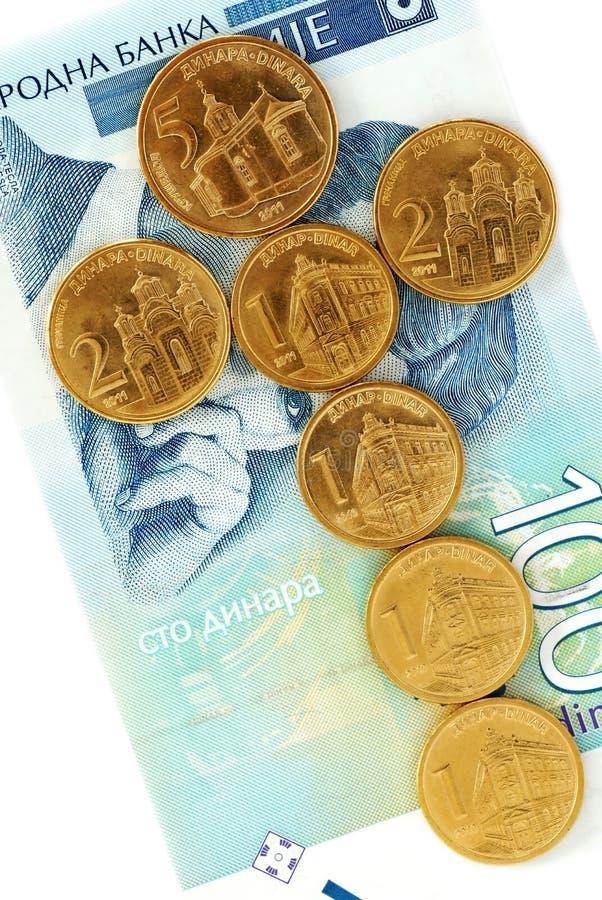 coins dinarserb fotografering för bildbyråer