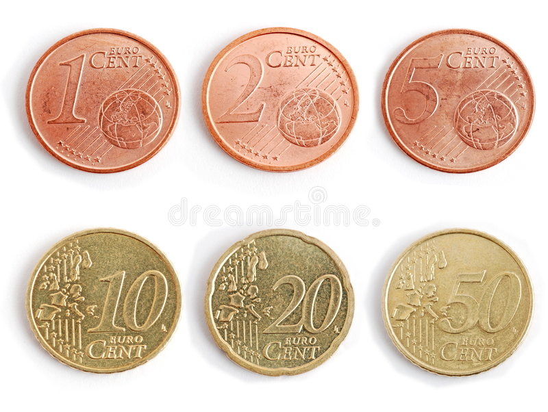 Download Coins - euro stock photo. Image of coin, save, spend, cent - 5791978