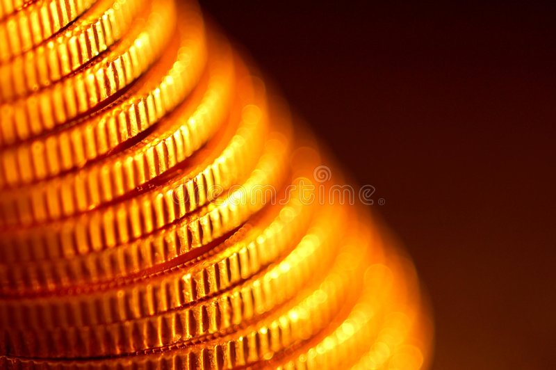 coins guld- royaltyfri foto