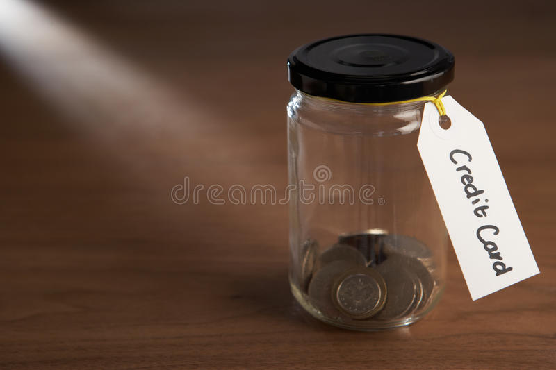 Download Coins in a jam jar stock photo. Image of cost, card, interest - 22002382