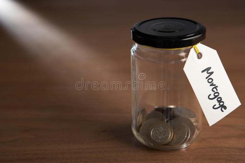 Download Coins In A Jam Jar Stock Image - Image: 22002391