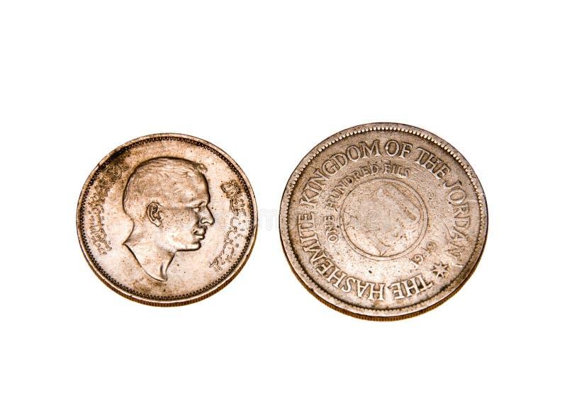 coins jordan arkivfoton