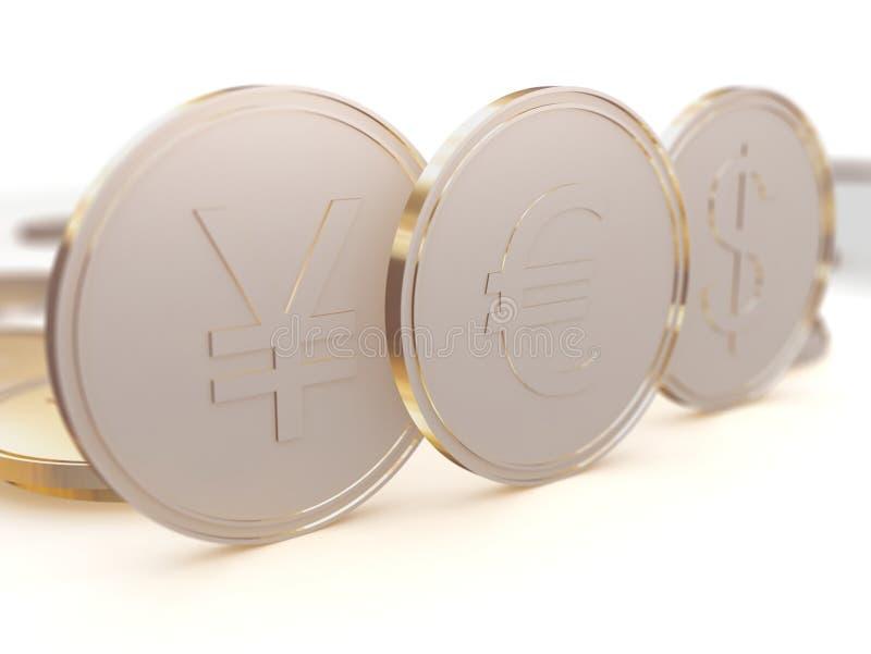coins pengar royaltyfri fotografi